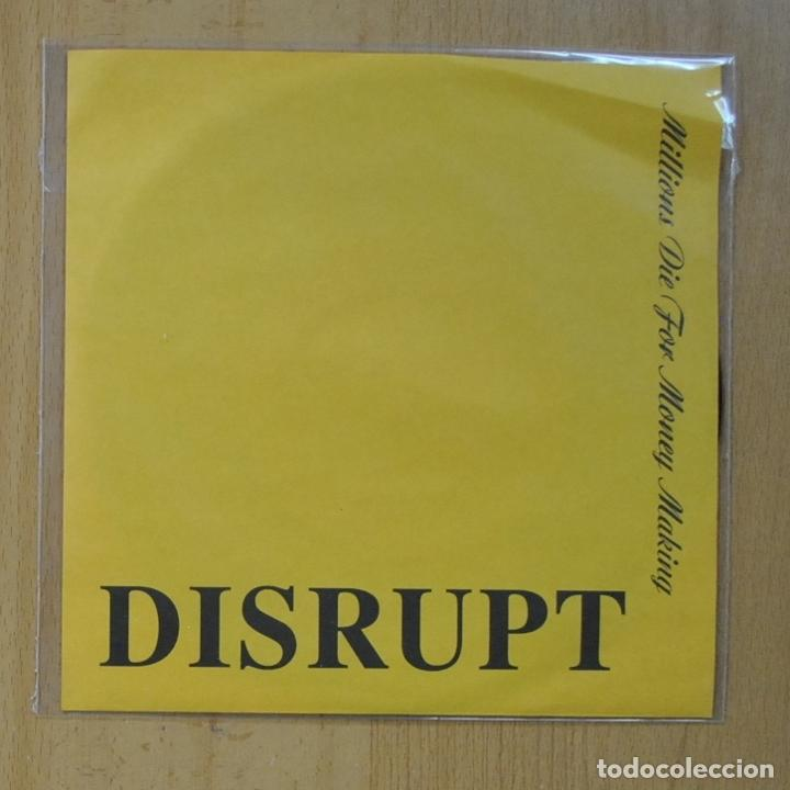 DISRUPT - TILL DEN DET ANGAR / TO WHOM EVER IT MAY CONCERN - SINGLE (Música - Discos - Singles Vinilo - Punk - Hard Core)