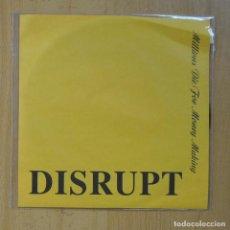 Disques de vinyle: DISRUPT - TILL DEN DET ANGAR / TO WHOM EVER IT MAY CONCERN - SINGLE. Lote 235725425