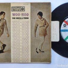 Dischi in vinile: THE ROCK-A-TEENS - EP SPAIN PS - WOO-HOO / I M NOT AFRAID / DANCE TO THE BOP / TWANGY. Lote 235725475