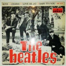 Discos de vinilo: THE BEATLES - BOYS (SINGLE, 1964). Lote 235725585