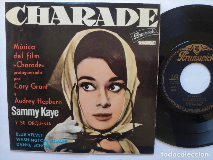 SAMMY KAYE - EP SPAIN PS - MINT * CHARADE * AUDREY HEPBURN EN LA PORTADA * 1964 (Música - Discos de Vinilo - EPs - Pop - Rock Extranjero de los 50 y 60)