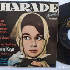 Dischi in vinile: SAMMY KAYE - EP SPAIN PS - MINT * CHARADE * AUDREY HEPBURN EN LA PORTADA * 1964. Lote 235730120
