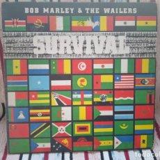 Discos de vinilo: BOB MARLEY - SURVIVAL (ESPAÑA 1980). Lote 235730510