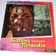 Discos de vinilo: SALOMÉ - FINLANDIA. Lote 235731105