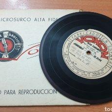 Discos de vinilo: ULTRA MEGA RARE ITEM: LOS V.J.2 EP VOXON PRIVATE METAL ACETATE 1962/63 HILLBILLY R&R. Lote 235731565