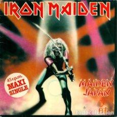 Discos de vinilo: MX-IRON MAIDEN/ MAIDEN JAPAN -1982- (MUY BIEN CONSERVADO). Lote 235732140