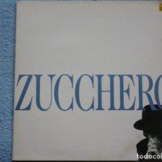 Discos de vinil: ZUCCHERO FORNACIARI,ZUCCHERO EDICION ESPAÑOLA DEL 90 DOBLE CARATULA. Lote 235733115