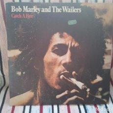 Discos de vinilo: BOB MARLEY - CATCH A FIRE (ESPAÑA 1980). Lote 235733145