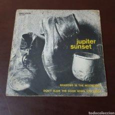 Discos de vinilo: JUPITER SUNSET - SHADOWS IN THE MOONLIGHT 1972 BELTER. Lote 235786030