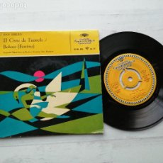 Discos de vinilo: JEAN SIBELIUS – DER SCHWAN VON TUONELA / BOLERO (FESTIVO) SG SPAIN 1957 VINILO NM PORTADA VG++. Lote 235788975