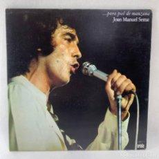 Discos de vinilo: LP - VINILO JOAN MANUEL SERRAT - ...PARA PIEL DE MANZANA - DOBLE PORTADA - ESPAÑA - AÑO 1975. Lote 235791385