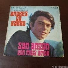 Discos de vinilo: ANDRES DO BARRO - SAN ANTON - CON MAIS AMOR. Lote 235792980