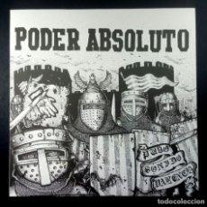 Discos de vinilo: PODER ABSOLUTO - PURO SONIDO VALENCIA - LP 45RPM 2017 CON INSERTO - 3DBRECS (EDICION LIMITADA). Lote 235795945