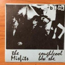 Discos de vinilo: MISFITS-BLANK COUGH/COOL B./W. SHE. Lote 235797590