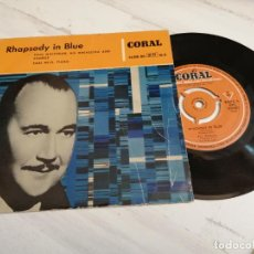 Discos de vinilo: PAUL WHITEMAN AND HIS ORCHESTRA, EARL WILD – RHAPSODY IN BLUE EP SPAIN 1958. Lote 235801440