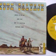 Discos de vinilo: THE TEXANS / BRUCE CABOT / WAYWARD WUBD - EP SPAIN PS - OESTE SALVAJE * 1969. Lote 235801845