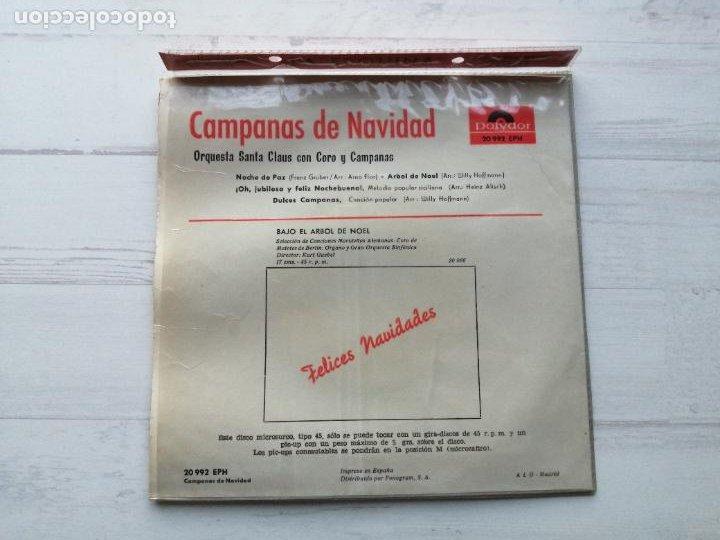 Discos de vinilo: Orquesta Santa Claus Con Coro Y Campanas* – Campanas De Navidad EP SPAIN 1964 EX/EX - Foto 2 - 235803610