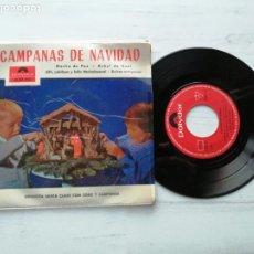 Discos de vinilo: ORQUESTA SANTA CLAUS CON CORO Y CAMPANAS* – CAMPANAS DE NAVIDAD EP SPAIN 1964 EX/EX. Lote 235803610