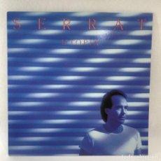 Discos de vinilo: LP - VINILO SERRAT - UTOPIA + PÓSTER - ESPAÑA - AÑO 1982. Lote 235805395