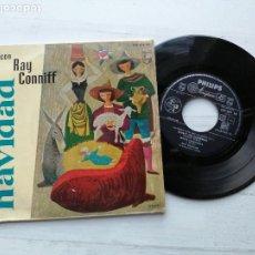 Discos de vinilo: RAY CONNIFF SU ORQUESTA Y COROS* – NAVIDAD CON RAY CONNIFF, Nº 1 EP SPAIN 1960 JAZZ EX/EX. Lote 235806000