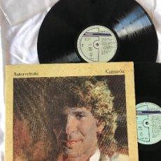 Discos de vinilo: CAMARON DE LA ISLA - AUTORRETRATO, 1990 - 2 LP, DOBLE CARPETA - COMO NUEVO. Lote 235806120