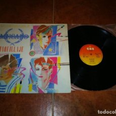 Discos de vinilo: MECANO MAQUILLAJE / NAPOLEON / SUPER-RATON MAXI SINGLE VINILO 1982 3 TEMAS NACHO CANO ANA TORROJA. Lote 235812115