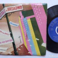 Discos de vinilo: REVISTAS DE BROADWAY Nº 2 - EP SPAIN PS - JIMMY CARROLL * OKLAHOMA / GUYS AND DOLLS / PIPE DREAM + 1. Lote 235813815