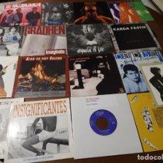 Discos de vinilo: LOTE-17 SINGLES-GRUPOS ESPAÑOLES 80/ 90-( LOS BERRONES,ACUSADOS,GRADHEN,LA GRANJA,SAU,NOVIEMBRE,ETC.. Lote 235814150