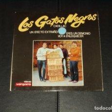 Discos de vinilo: GATOS NEGROS EP CADILLAC+3. Lote 235814430