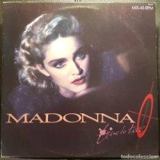 Discos de vinilo: MADONNA - LIVE TO TELL - MAXISINGLE - BRASIL - PROMOCIONAL - MUY RARO - NO USO CORREOS. Lote 235815560