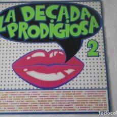 Discos de vinilo: LP LA DÉCADA PRODIGIOSA 2. Lote 235820405