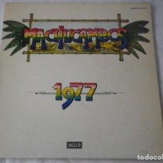 Discos de vinilo: LP LOS MACHUCAMBOS. 1977. Lote 235821605