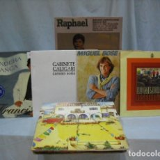 Discos de vinilo: LOTE DE 40 DISCOS ELPS TODOS DIFERENTES. Lote 235823505