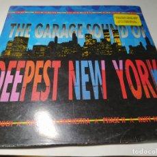 Disques de vinyle: LP - THE GARAGE SOUND OF DEEPEST NEW YORK - 46382 - 2LP - CAR ( VG+ / VG+ ) SPAIN 1988. Lote 235823840