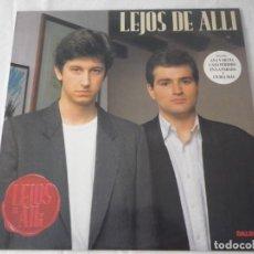 Discos de vinilo: LP LEJOS DE ALLÍ.. Lote 235824605