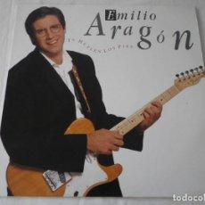 Discos de vinilo: LP EMILIO ARAGÓN. TE HUELEN LOS PIES.. Lote 235825505