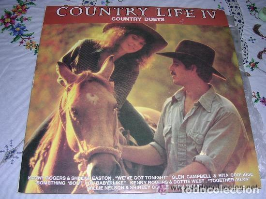 COUNTRY LIFE IV COUNTRY DUETS (Música - Discos - LP Vinilo - Country y Folk)