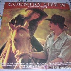 Discos de vinilo: COUNTRY LIFE IV COUNTRY DUETS. Lote 235827320
