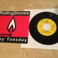 "Discos de vinilo: THE ROLLING STONES - RUBY TUESDAY - SINGLE 7"" RADIO PROMO - IMPOLUTO. Lote 235832295"