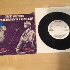 "Discos de vinilo: PHIL COLLINS & STING - THE SECRET POLICEMAN'S CONCERT - SINGLE 7"" RADIO PROMO - 1982. Lote 235840085"
