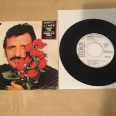 "Discos de vinilo: RINGO START - WRACK MY BRAIN - SINGLE 7"" RADIO PROMO - 1981. Lote 235841375"