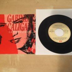 """Discos de vinilo: GABINETE CALIGARI - LA CULPA FUE DEL CHA-CHA-CHA - SINGLE 7"""" RADIO PROMO - 1990. Lote 235842125"""