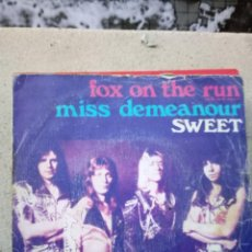 Dischi in vinile: SWEET - FOX ON THE RUN. Lote 235842390