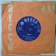 Discos de vinilo: MIKE PRESTON. MARRY ME/ GIRL WITHOUT A HEART. DECCA, UK 1961 SINGLE. Lote 235842470