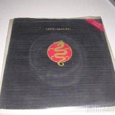 Discos de vinilo: CRETU SAMURAI ENGLISH VERSION. Lote 235843730