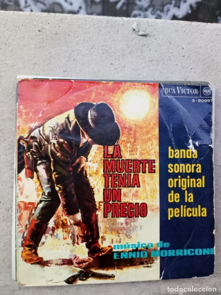 ENNIO MORRICONE - LA MUERTE TENÍA UN PRECIO (Música - Discos de Vinilo - EPs - Bandas Sonoras y Actores)
