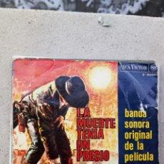 Discos de vinilo: ENNIO MORRICONE - LA MUERTE TENÍA UN PRECIO. Lote 235846170