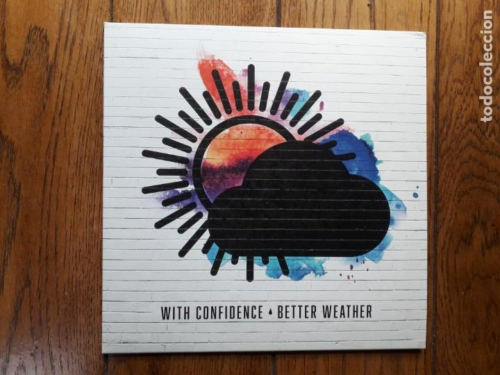 WITH CONFIDENCE - BETTER WEATHER (Música - Discos de Vinilo - EPs - Pop - Rock Extranjero de los 90 a la actualidad)
