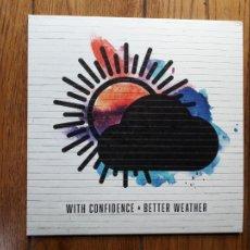 Discos de vinilo: WITH CONFIDENCE - BETTER WEATHER. Lote 235853300
