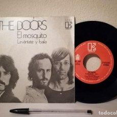Discos de vinilo: ANTIGUO SINGLE - THE DOORS EL MOSQUITO - LEVANTATE Y BAILA - 1972 ELEKTRA ESPAÑA SPAIN. Lote 235859065
